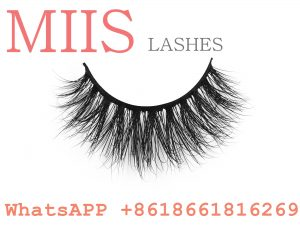 3D mink lashes with