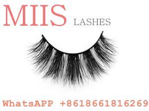 100% real mink fur lashes
